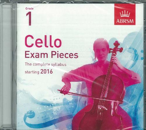 ABRSM Cello Exam Pieces Grade 1 (Cd Only)