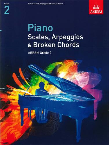 Scales, Arpeggios & Broken Chords for Piano (from 2009) Grade 2