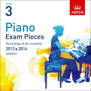 ABRSM Piano Pieces Grade 3 (2013-2014) CD only