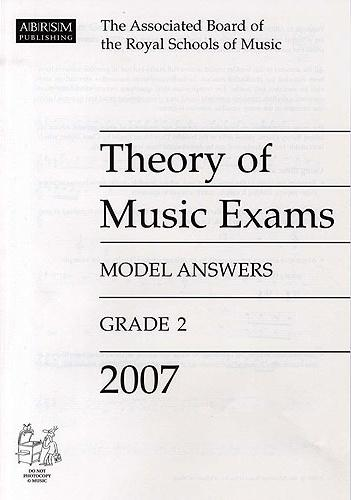 ABRSM Theory of Music Exams Model Answers, Grade 2, 2007