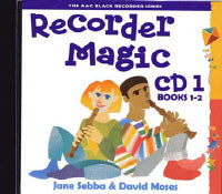 Recorder Magic CD 1 (for books 1 & 2), Sebba and Moses