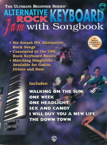 Ultimate Beginner: Alternative Rock Keyboard (Book & CD)