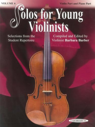 Solos for Young Violinists - Volume 6 (Book)