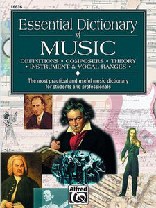 Essential Dictionary of Music, Lindsey C. Harnsberger (Books (general))