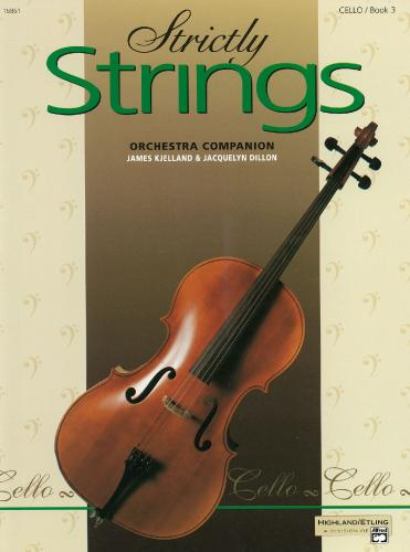 Strictly Strings - Orchestral Companion (Cello Book 3)
