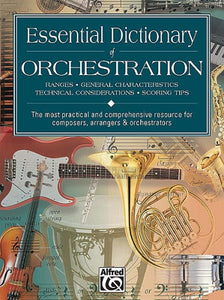 Essential Dictionary of Orchestration (Books)