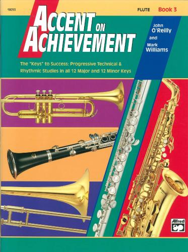 Accent on Achievement. Flute Book 3 (Band Method)