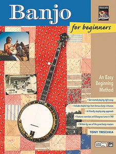 Banjo for Beginners (Book & CD), Tony Trischka
