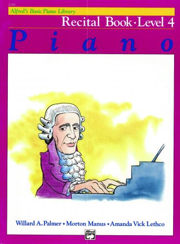 Alfred's Basic Piano Recital Book Lvl 4