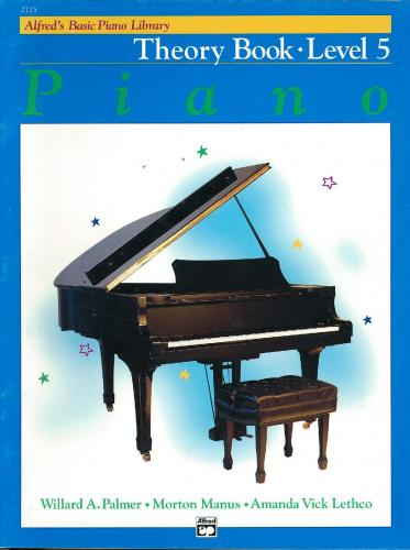 Alfred's Basic Piano Theory Book Lvl 5