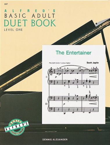 Alexander: Alfred's Basic Adult Piano Course  Duet Book 1