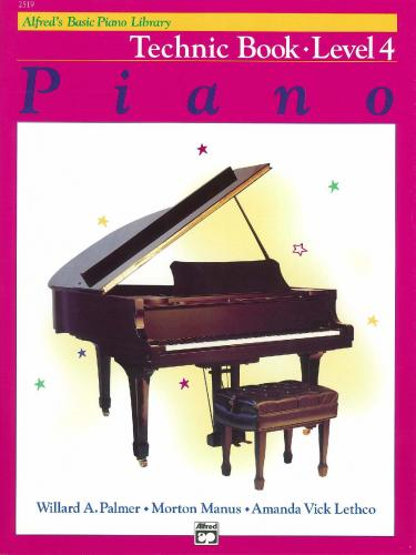 Alfred's Basic Piano Technic Book Lvl 4