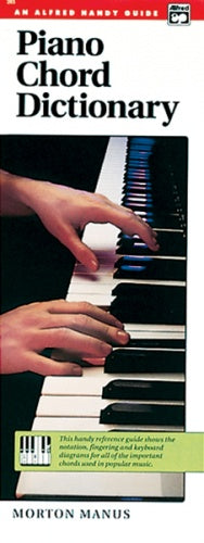 Manus: Piano Chord Dictionary. Handy Guide (Books (general))