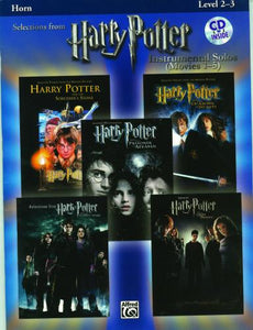 Harry Potter- Instrumental Solos, Movies 1-5