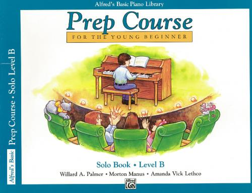 Alfred Prep Course Solo Book Level B (Piano Tutor)