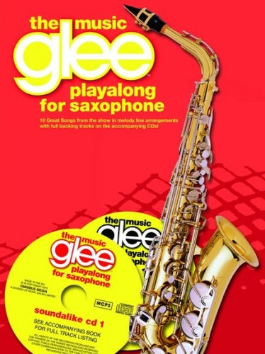 Glee Playalong - Alto Saxophone (Book & CD)