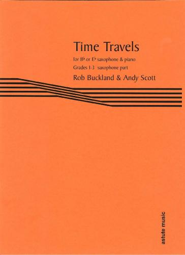 Time Travels for Saxophone (Saxophone Part)