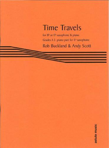 Time Travels for Eb Saxophone (Piano Accompaniment)