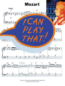 I Can Play That! Mozart, Piano/Organ Solo