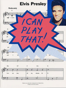 I Can Play That! Elvis Presley (PVG)