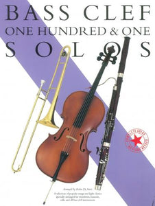 One Hundred And One Solos Bass Clef Instruments