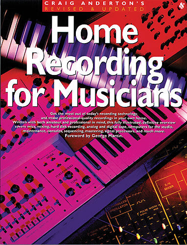 Anderton: Home Recording For Musicians (Technology)
