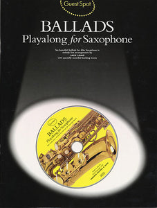 Guest Spot: Ballads Playalong For Saxophone