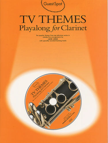 Guest Spot: TV Themes Playalong for Clarinet (Book & CD)