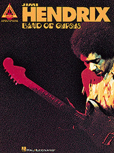 Jimi Hendrix: Band Of Gypsys Guitar Recorded Versions