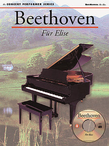 Beethoven: Für Elise (Book & CD-ROM) (Piano Solo)