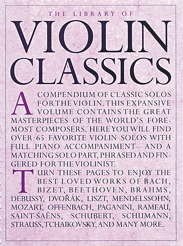 The Library of Violin Classics