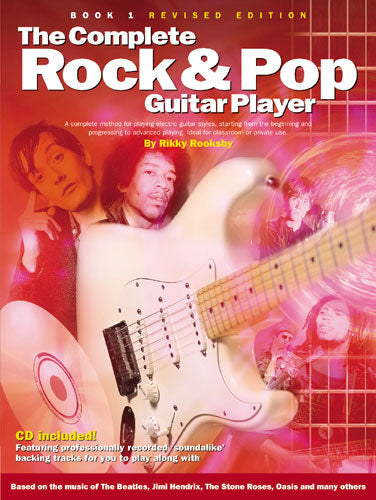 Rooksby: The Complete Rock And Pop Guitar Player: Book 1 (Revised Edition)