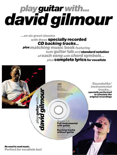 Play Guitar With... David Gilmour (Book & CD)