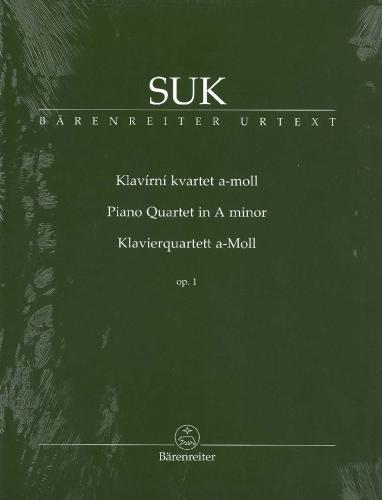 Josef Suk: Piano Quartet in A Minor - Op.1 - Set of Parts