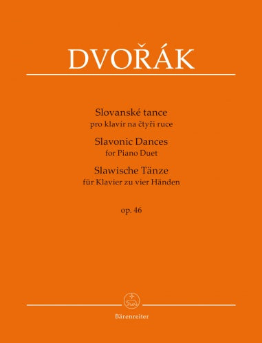Slavonic Dances for Piano Duet op. 46, 1st Series Op.46 (replaces H592)