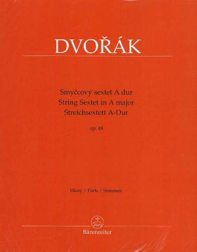 Antonín Dvorák: String Sextet in A Major - Op.48 - Set of Parts
