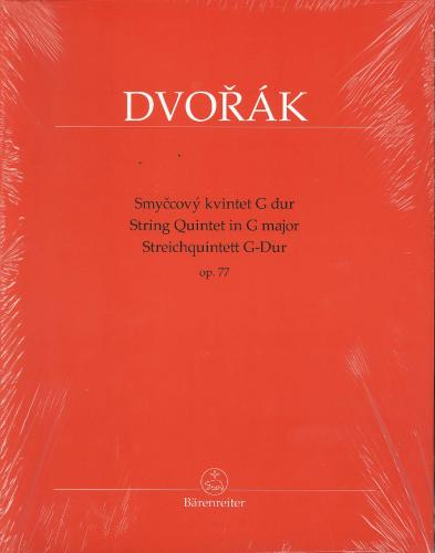 Antonín Dvorák: String Quintet in G Major Op. 77