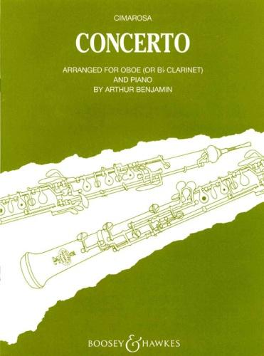 Cimarosa: Concerto for Oboe and Strings (Oboe & Piano)