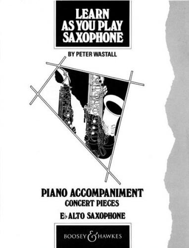 Learn As You Play Saxophone (Alto) (Teachers Book)