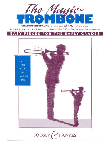 The Magic Trombone, Trombone (Treble or Bass Clef) and Piano