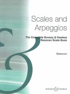Complete B & H Bassoon Scale Book (Scales & Arpeggios)