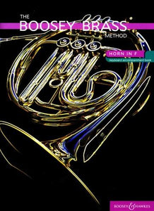 Chris Morgan: Boosey Brass Method: Horn in F (Piano Accomps) Books 1 & 2