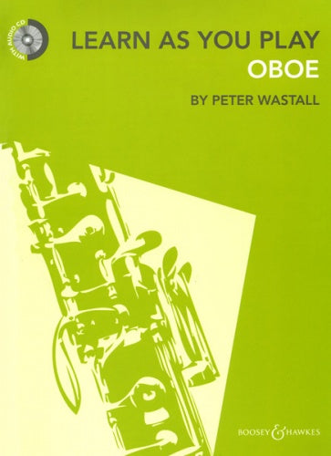 Learn As You Play Oboe (New Edition) with CD