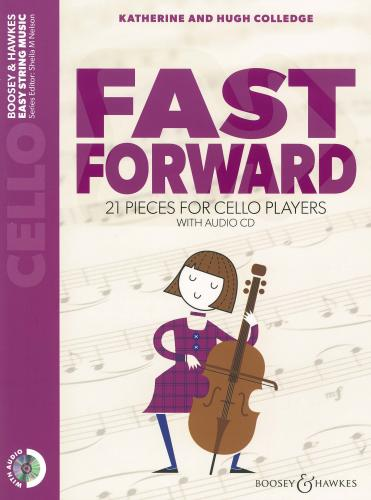 Fast Forward for Cello & CD