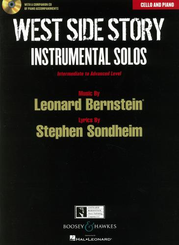 West Side Story Instrumental Solos for Cello & Piano