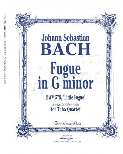 Johann Sebastian Bach Fugue in G Minor BWV 578,