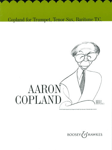 Copland for Trumpet, Tenor Sax, Baritone TC (Part only)
