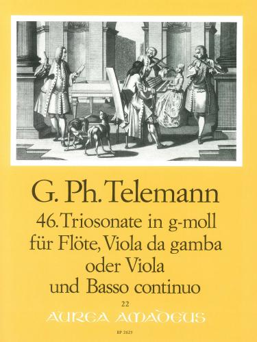 Georg Philipp Telemann: 46th Trio Sonata in G Minor TWV 42:g7