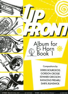 Up Front Album for Eb Horn - Book 1
