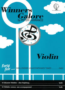 Winners Galore for Violin (Violin Part)